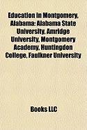 Education in Montgomery, Alabama: Alabama State University