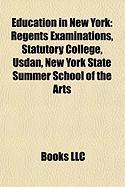 Education in New York: Regents Examinations