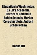 Education in Washington, D.C.: It's Academic