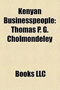 Kenyan Businesspeople: Thomas P. G. Cholmondeley