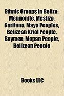 Ethnic Groups in Belize: Mennonite