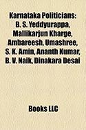 Karnataka Politicians: B. S. Yeddyurappa