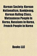 Korean Society: Korean Nationalism