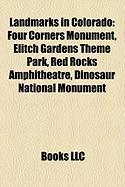 Landmarks in Colorado: Four Corners Monument