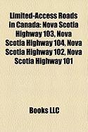 Limited-Access Roads in Canada: Nova Scotia Highway 103