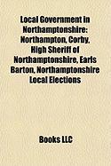 Local Government in Northamptonshire: Northampton