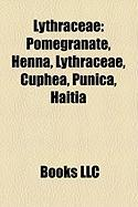 Lythraceae: Pomegranate