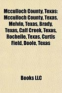 McCulloch County, Texas: Brady, Texas