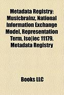 Metadata Registry: National Information Exchange Model