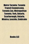 Metro Toronto: Toronto Transit Commission