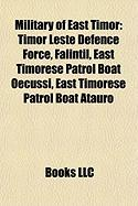Military of East Timor: Timor Leste Defence Force