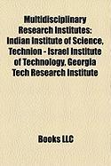 Multidisciplinary Research Institutes: Georgia Tech Research Institute