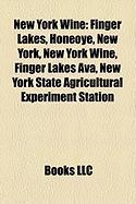 New York Wine: Finger Lakes