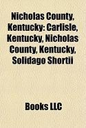 Nicholas County, Kentucky: Solidago Shortii