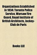Organizations Established in 1834: Toronto Police Service