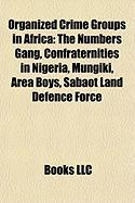 Organized Crime Groups in Africa: The Numbers Gang