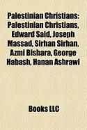 Palestinian Christians: Edward Said