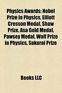Physics Awards: Elliott Cresson Medal