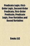 Predicate Logic: First-Order Logic