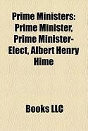 Prime Ministers: Prime Minister