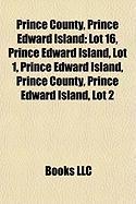 Prince County, Prince Edward Island: Lot 16, Prince Edward Island