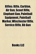 Rifles: Paintball Equipment