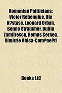 Romanian Politicians: Victor Rebengiuc