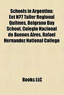 Schools in Argentina: Eet N 7 Taller Regional Quilmes