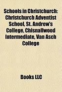 Schools in Christchurch: Christchurch Adventist School