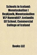 Schools in Iceland: Menntask Linn Reykjav K