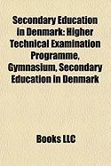 Secondary Education in Denmark: Higher Technical Examination Programme