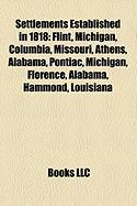 Settlements Established in 1818: Flint, Michigan