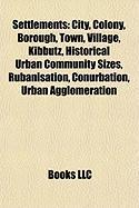 Settlements: City