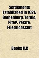 Settlements Established in 1621: Gothenburg