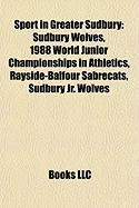 Sport in Greater Sudbury: Sudbury Wolves