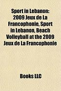 Sport in Lebanon: 2009 Jeux de La Francophonie