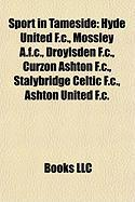 Sport in Tameside: Hyde United F.C., Mossley A.F.C., Droylsden F.C., Curzon Ashton F.C., Stalybridge Celtic F.C., Ashton United F.C.