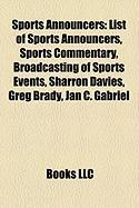 Sports Announcers: List of Sports Announcers