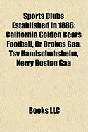Sports Clubs Established in 1886: California Golden Bears Football