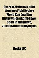 Sport in Zimbabwe: 1997 Women's Field Hockey World Cup Qualifier