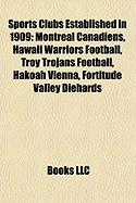 Sports Clubs Established in 1909: Hawaii Warriors Football