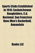 Sports Clubs Established in 1910: Saskatchewan Roughriders