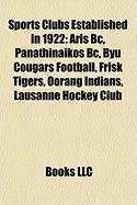 Sports Clubs Established in 1922: Aris BC