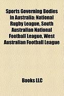 Sports Governing Bodies in Australia: Australian Football League