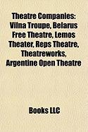 Theatre Companies: Vilna Troupe