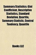 Summary Statistics: Standard Deviation