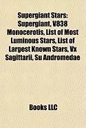 Supergiant Stars: V838 Monocerotis