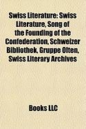 Swiss Literature: Rick Jeanneret