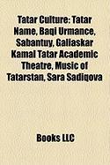 Tatar Culture: Tatar Name