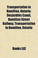 Transportation in Hamilton, Ontario: Desjardins Canal